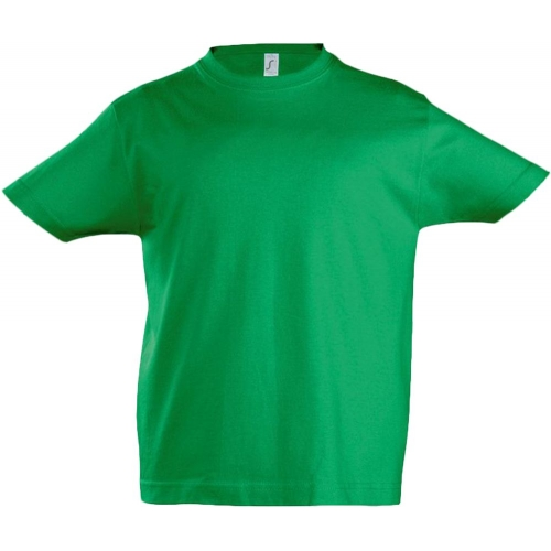 Футболка детская Imperial Kids 190, ярко-зеленая