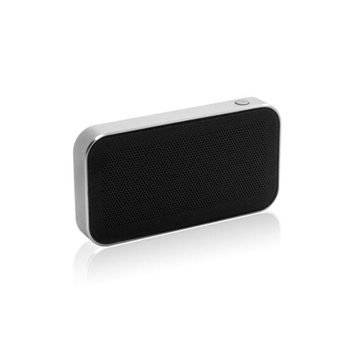 Беспроводная Bluetooth колонка Micro Speaker, темно-серебристая