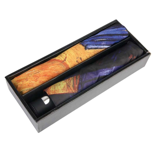 Набор «Ван Гог. Терраса кафе ночью»: платок, складной зонт