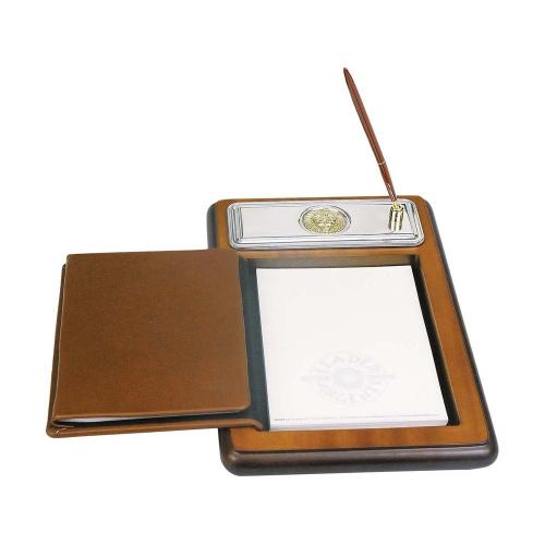 Подставка для бумажного блока с ручкой и телефонной книжкой «Голова льва»