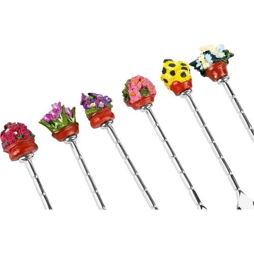Набор ложек «Цветы»