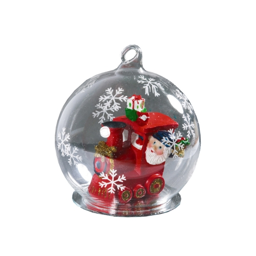 Новогодний шар с Дедом Морозом «Нефтяной магнат»