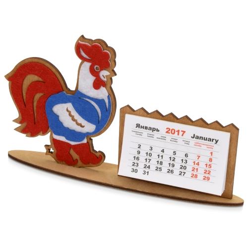 Настольный календарь «Петушок в жилетке»