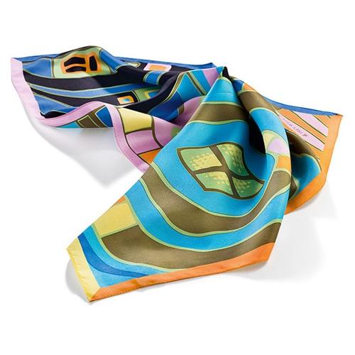 Шейный платок «Гаврош» Ф. Хундертвассер