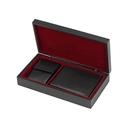 Подарочный набор: портмоне, ключница