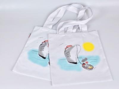Тканевые эко-сумки с логотипом