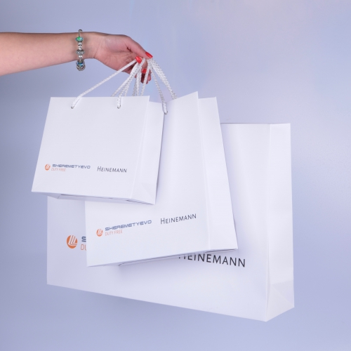 Бумажный пакет - брендированная упаковка