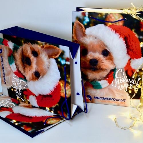 Бумажные пакеты для подарков