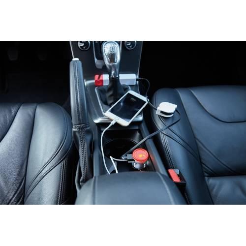 Мощное автомобильное зарядное устройство с 2 USB-портами