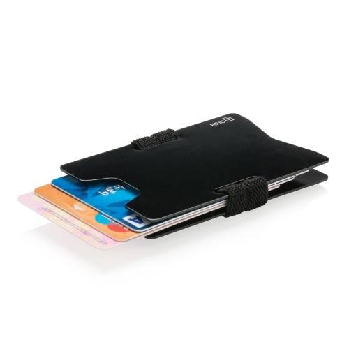 Алюминиевый чехол для карт с защитой от сканирования RFID