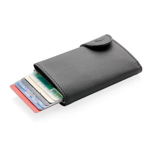 Кошелек с держателем для карт C-Secure RFID, черный