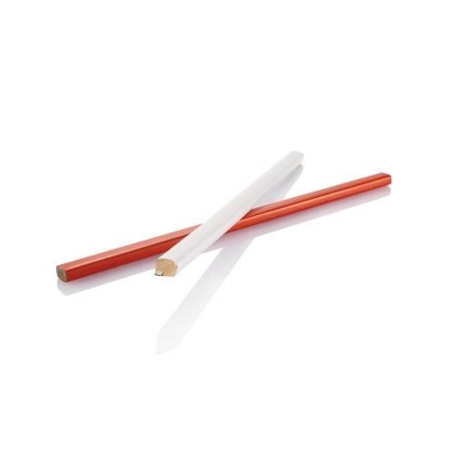Деревянный карандаш, 25 см, белый