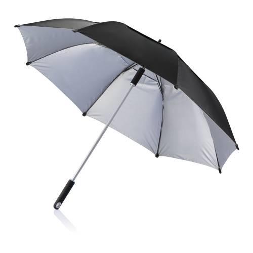 Зонт-трость антишторм Hurricane 27, черный
