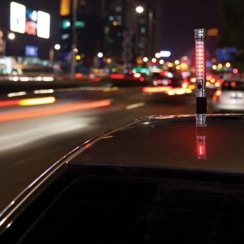 Автомобильный фонарик с аварийным сигналом на магните