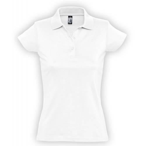 Рубашка поло женская Prescott Women 170, белая