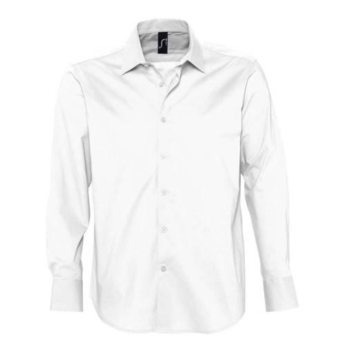 Рубашка мужская с длинным рукавом BRIGHTON, белая
