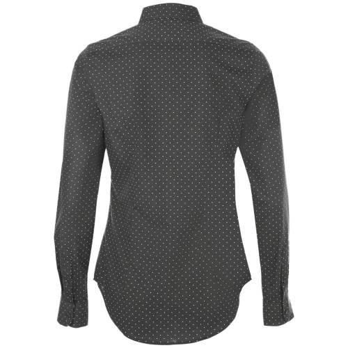 Рубашка женская BECKER WOMEN, темно-серая с белым