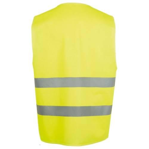 Жилет светоотражающий SECURE PRO, желтый неон