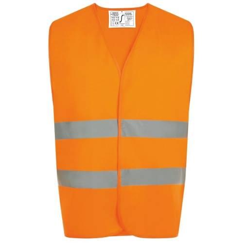 Жилет светоотражающий SECURE PRO, оранжевый неон
