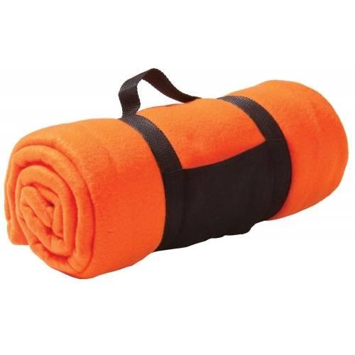 Дорожный плед Soft, оранжевый