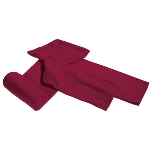 Плед с рукавами Lazybones, бордовый