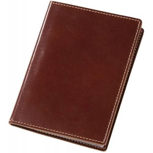 Обложка для автодокументов «Комфорт», коричневая