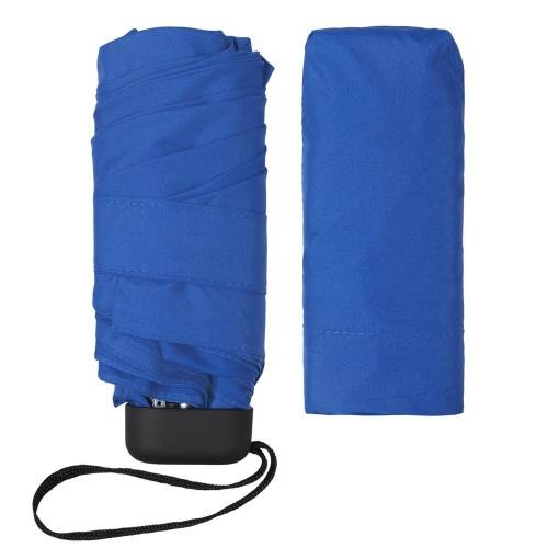 Зонт складной Unit Five, синий