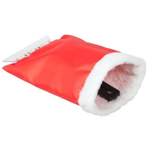 Скребок для уборки снега и льда, красный