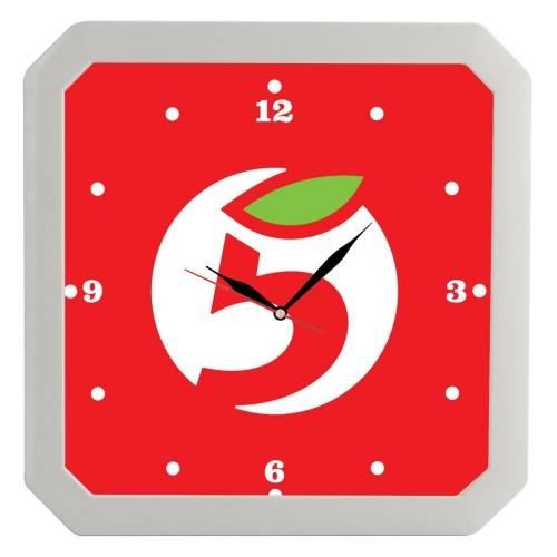 Часы настенные «Квадро», белые