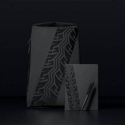 Ручка шариковая Prodir QS03 PRP Tyre Soft Touch, черная
