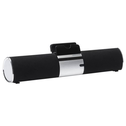 Беспроводная стереофоническая колонка Uniscend Trinity, черная глянцевая