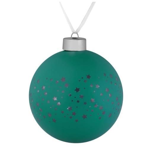 Елочный шар Stars, 10 см, зеленый