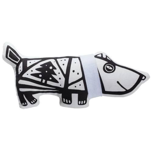 Игрушка «Собака в шарфе», большая, белая