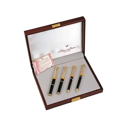 Набор: ручка перьевая, ручка роллер, ручка шариковая, механический карандаш