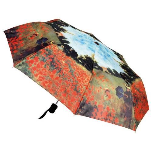 Набор «Моне. Поле маков»: платок, складной зонт