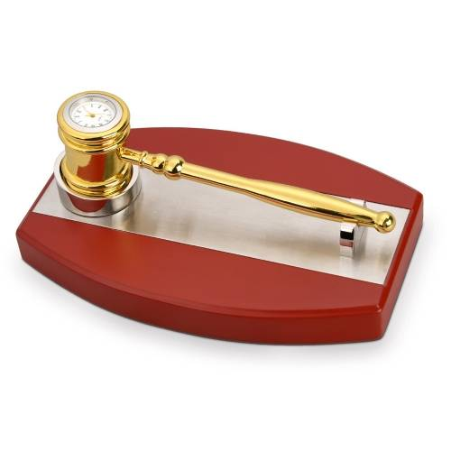 Настольный прибор «Молоток для совещаний»
