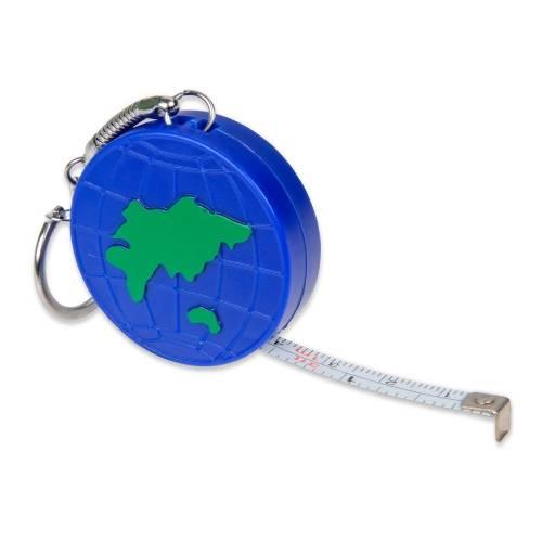 Брелок-рулетка «Глобус», 1м