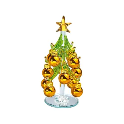 Стеклянный сувенир «Елочка»