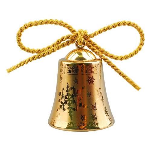 Рождественский колокольчик «Gold»