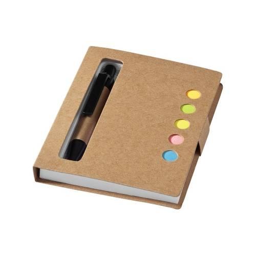 Набор стикеров «Reveal» с ручкой и блокнотом А7