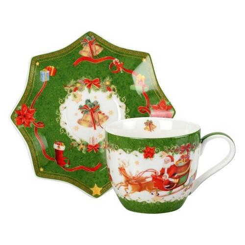 Чайная пара «Санта Клаус»