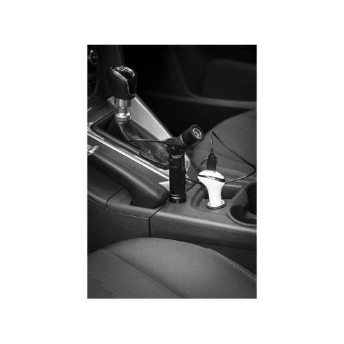 Портативное зарядное устройство «PB-1400» автомобильное, 1400 mAh