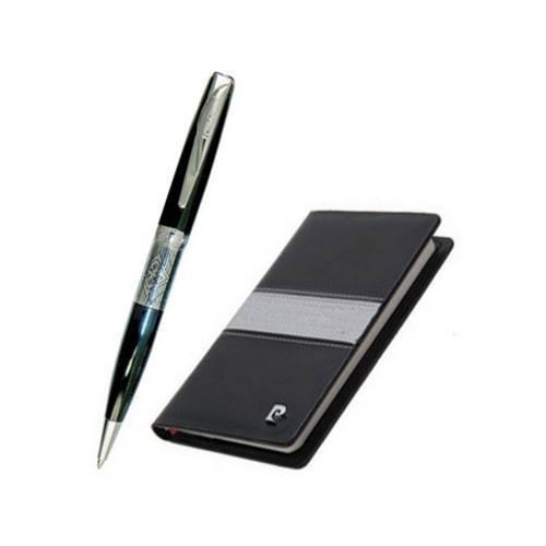 Набор: ручка шариковая, записная книжка