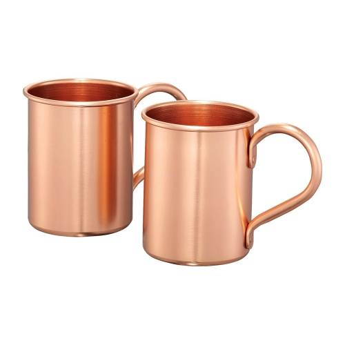 Набор кружек для коктейля с рецептом «Moscow mule»