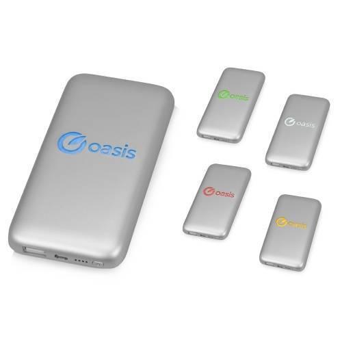 Портативное зарядное устройство XOOPAR BUBBLE BANG, 5 цветов подсветки, 5000 mAh