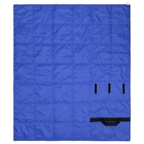 Плед стеганый Camper, синий