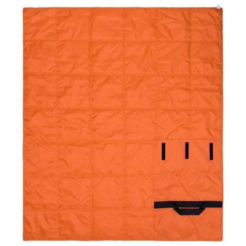 Плед стеганый Camper, оранжевый