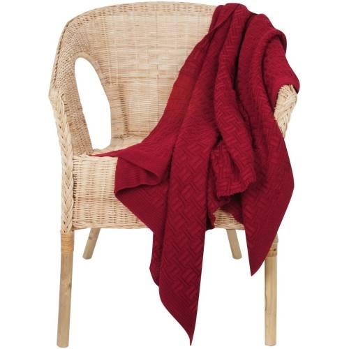 Набор Cozy Evening: плед и термостакан, красный