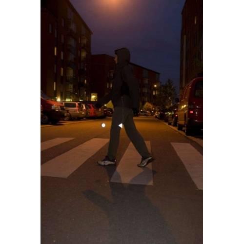 Пешеходный светоотражатель «Круг», розовый