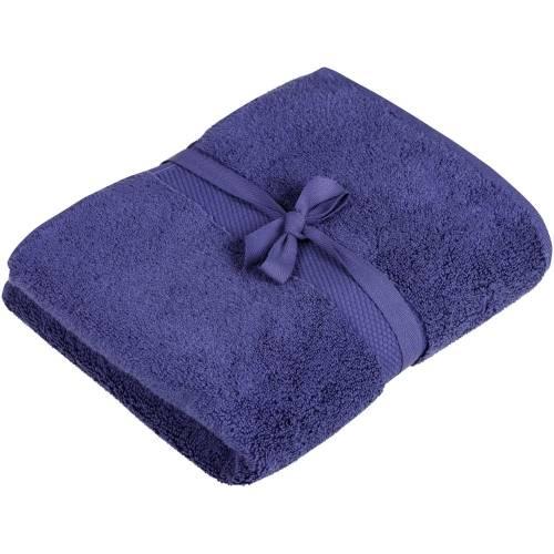 Полотенце махровое Majesty Medium, синее